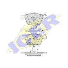 181655_колодки Дисковые Передние! Volvo Xc90 2.5it/3.0i T6 02# Icer 181655 Icer арт. 181655