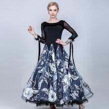 Vestidos de baile de salón para mujer vestido de salón de baile para niñas vestido de vals flecos vestido social estándar Ropa de baile