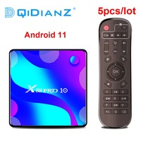 Dqidianz-tv box inteligente, android 11, rk3318, quad core, 4k, h.265, reprodutor de mídia, x88 pro