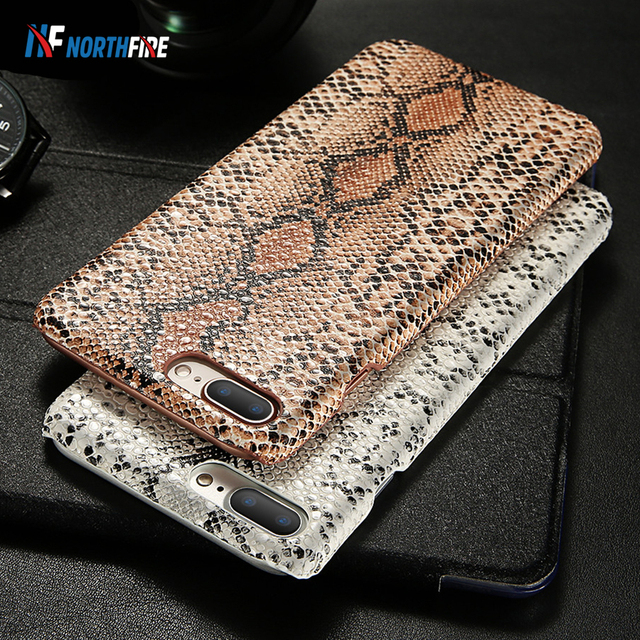 Retro Snake Case For iPhone 7 8 X/XS Max XR 6 6S Cases For iPhone 5/6/6S/7/8 Plus Cover Serpiente Fundas Hard PC Phone Case