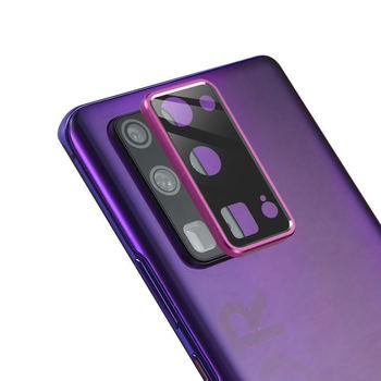 Cubierta completa de protección de la cámara para Huawei Honor V30 PRO X10, cubierta de anillo de Metal y vidrio protector en honor v30