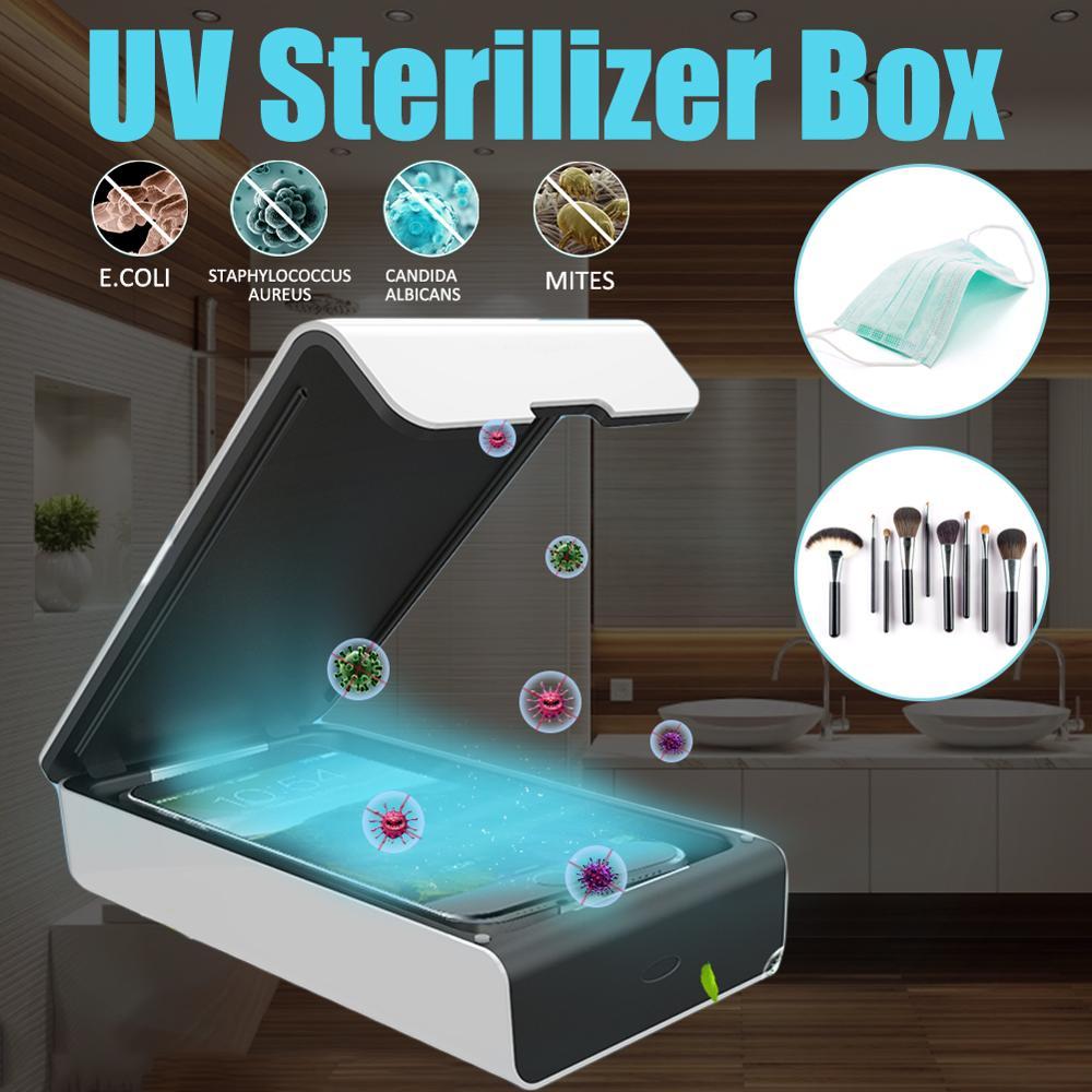 USB Portable Aroma UV Sterilizer Box Mobile Phone Cleaner Ultraviolet Disinfection Underwear Briefs UV Sterilizer 5V