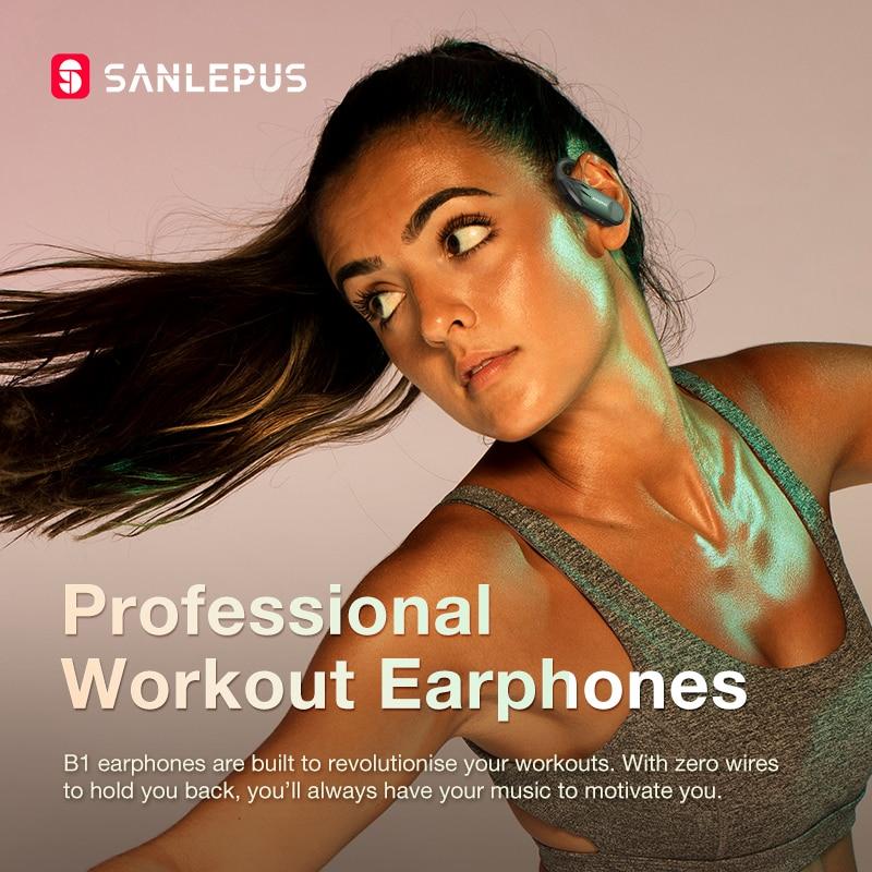 SANLEPUS TWS B1 drahtlose Bluetooth-Kopfhörer - Tragbares Audio und Video - Foto 2