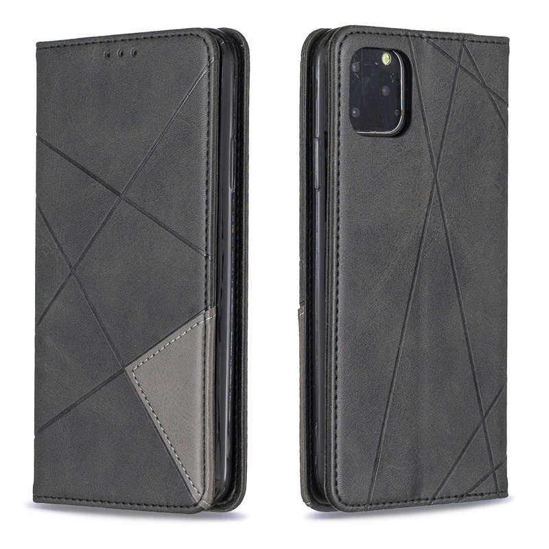 الوجه الحالات على ل أبل فون 6 زائد 6s 7 زائد XR X XS ماكس غطاء محفظة حقيبة كتب ل فون 11 برو ماكس 2019 TPU جلد حالة