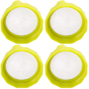4PCS Mason Jar Sprout Lid Sprout Seeds Strainer Seed Sprouter Cover Kit Durable Curved Mesh For Sprouts Gg