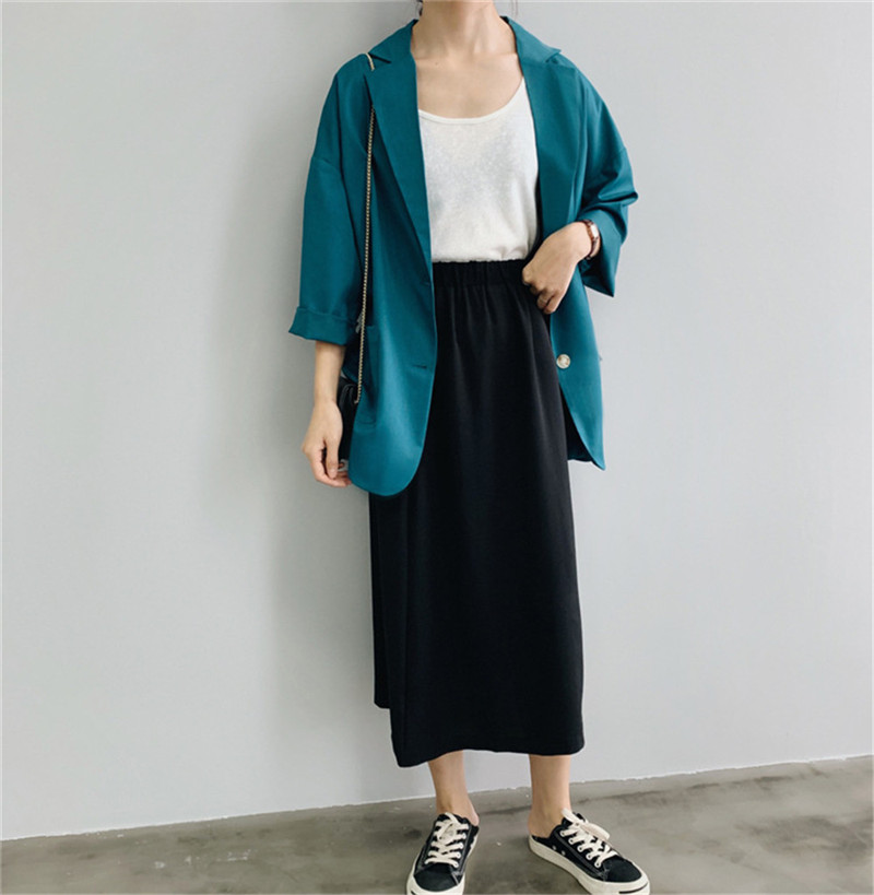 Women Office Jacket Slim Suit clothes 2019 Autumn Women`s Working Suit vadim blazer women`s tops Ladies Business Suit (20)