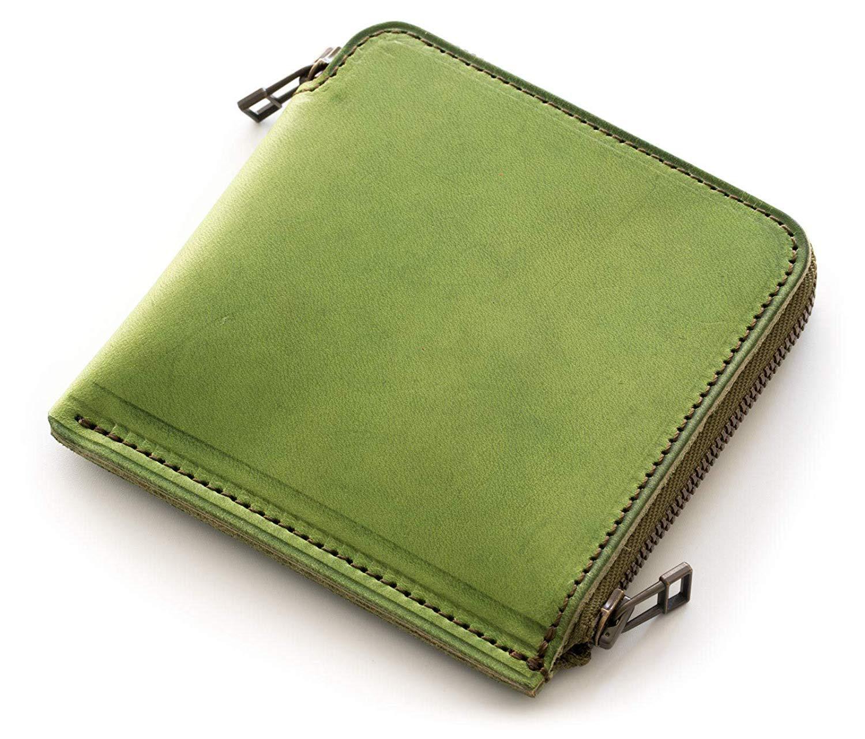 Men's Women's Genuine Leather Purse Tree Paste Cowhide Zip Coin Purse Japanese Style Double Zipper Simple Coin Wallet