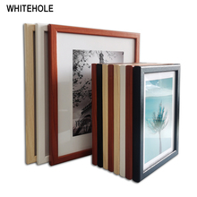 Wood Picture Frame For Wall Picture For Pictuirs  Wall Photo Frame Photo Pleixglass Inside Poster Frame a4 size wood photo frame solid wood photo frame stand table display photo quadro decoration tv wall frame best gift 2019