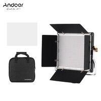 Andoer LED Photography Video Shooting Lamp LED Video Light 3200K 5600K Photographic Lighting for Youtube Photo Shoot Studio