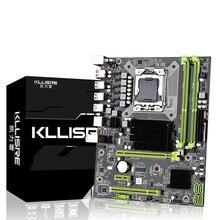 Kllisre X58 LGA 1366 материнская плата поддерживает серверную память REG ECC и процессор xeon