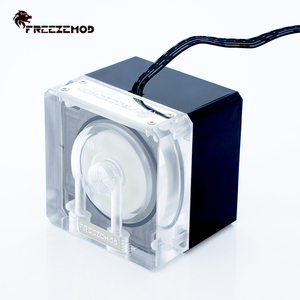Image 2 - FREEZEMOD Compute Cooling PC Water Cooler Mute ปั๊ม PWM อัจฉริยะกระแสเงินสด 800L/H 12V/5V RGB light Aure. PU FS4M J