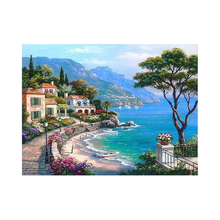 Landscape Painting by Numbers Diy Oil Canvas Painting Wall Art Coloring By Numbers Digital Painting Home Decor Handpainted Paint ruopoty frame mountain lake diy painting by numbers landscape handpainted oil painting modern home wall art canvas painting art