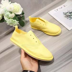 White Shoes Sneakers Customized Genuine-Leather New-Fashion Spring Big-Sizes Men's