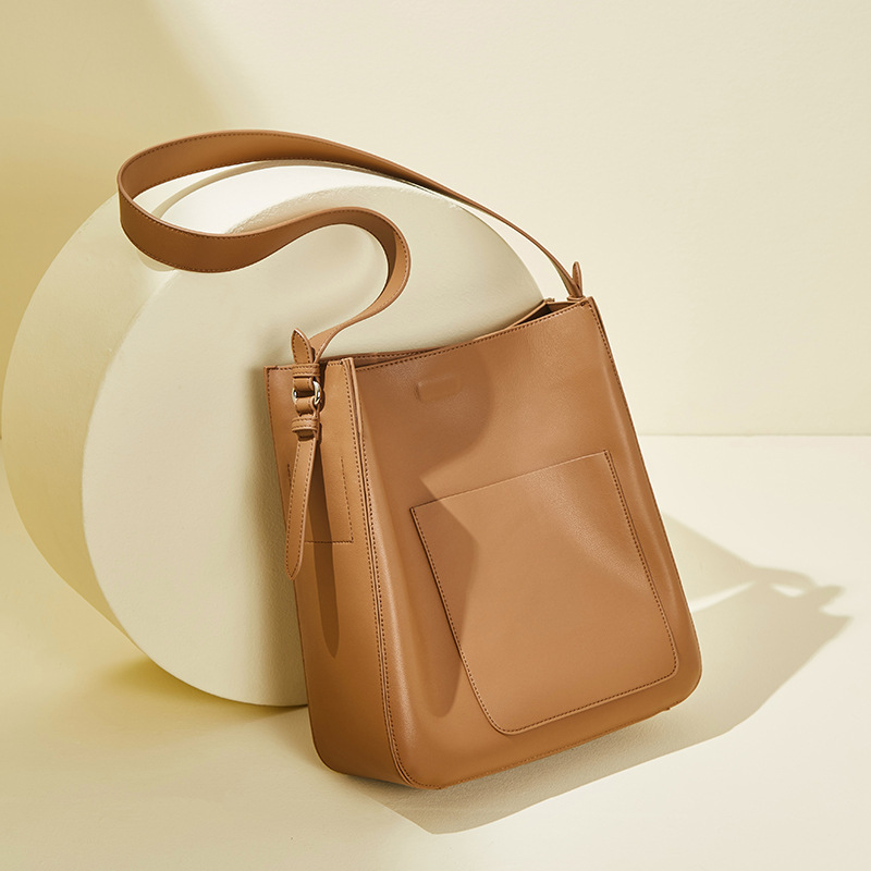 Fashion Women Handbag Crossbody Bags Casual Messenger Totes Solid Color Designer Lady Travel Shoulder Bucket Bag Torebki Damskie
