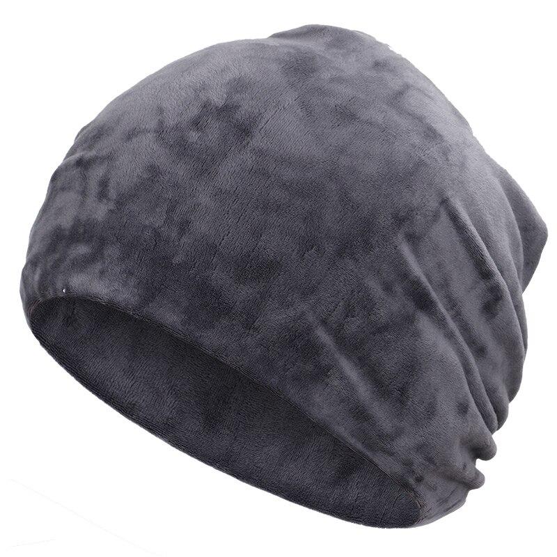 Новинка, модная женская шапочка, блестящие стразы, Осень-зима, Женская Повседневная шапка, Женская бархатная мягкая шапка Skullies Bonnet - Цвет: Gray-2