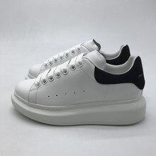 2019-20 White shoes Men Women Flat Shoes