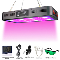 2400W Full Spectrum Panel lamp LED Grow Light Greenhouse Horticulture Grow Lamp for Indoor Plant Flowering Lamp switching