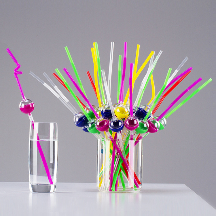 Haha Straw Disposable Children Creative Cute Modeling Straw Medicine Water Useful Product