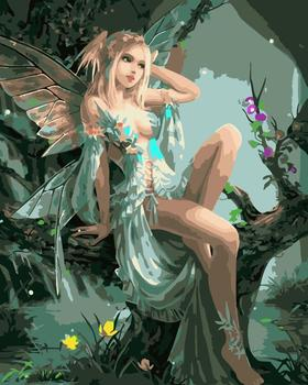Painting By Numbers Elfin Elf Fairy Mythical Creatures Fantasy