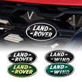 Автомобильные аксессуары для Land Rover Aurora EVQ Range Rover Evoque LR2 3 SVR Velar, алюминиевый сплав, ветер, передний гриль, багажник, значок, наклейка