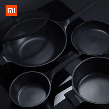 Frying-Pan Kitchen Xiaomi Huohou High-Temperature Nonstick Durable Reminder Wok Stockpot