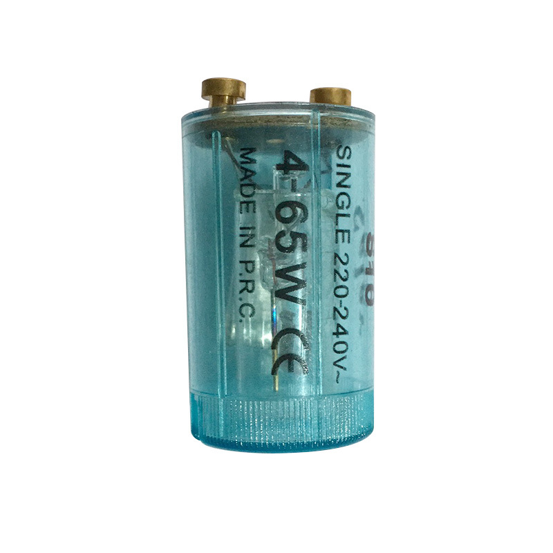 10PCS Wholesale High Quality Fluorescent Lamp Starter Starter Jump-bulb Fluorescent Lamp Starter 4~65W 220~240V