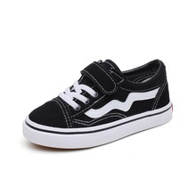 Child Canvas Shoes Autumn New Girls Sneakers Breathable Spring Fashion