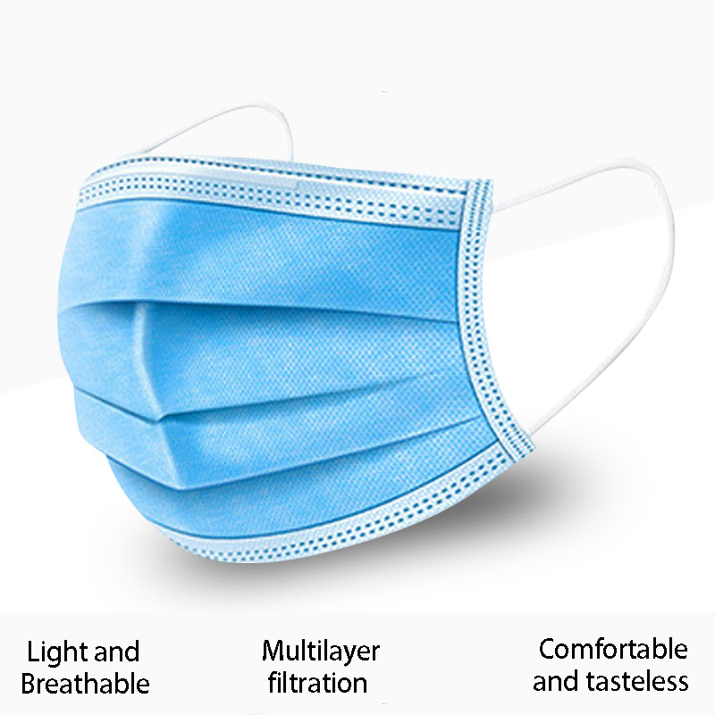 10/50/100pcs Anti Dust Face Mouth Mask Disposable Protect Women Men 3 Layers Filter Dustproof Earloop Non Woven Mouth Masks|Masks| |  - title=