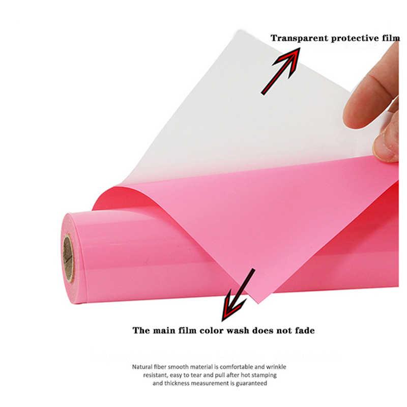 מכירה! משלוח חינם 1 גיליון 30cmX100cm PVC ויניל העברת חום DIY חום עיתונות מכונת T-חולצה ברזל על htv הדפסה