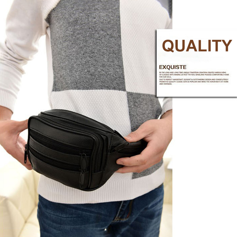 Outdoor Sports Casual Waist Pack Brown Outsta Unisex Belt Bag Casual Running Chest Bag Pouch Zip Fanny Pack Small Classic Daypack travel