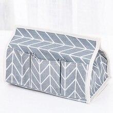 Хлопок белье художественный тканевый мешок коробка держатель для салфеток Обложка комната автомобиль бумажный контейнер