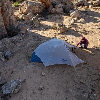 Naturehike Cloud Up Wing 2 Men Tent 15D Nylon Ultralight Portable Windproof Tents 3