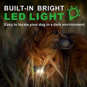Image 2 - 800m elektryczna obroża do szkolenia psa z wyświetlaczem LCD Pet zdalnie sterowana wodoodporna obroża akumulatorowa do wibracji wstrząsów