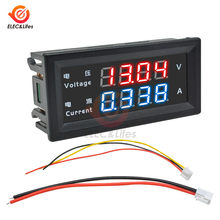 M4430 dc 100v 200v 10a eletrônico digital voltímetro amperímetro 0.28 tester tester display led regulador de tensão volt amp meter tester