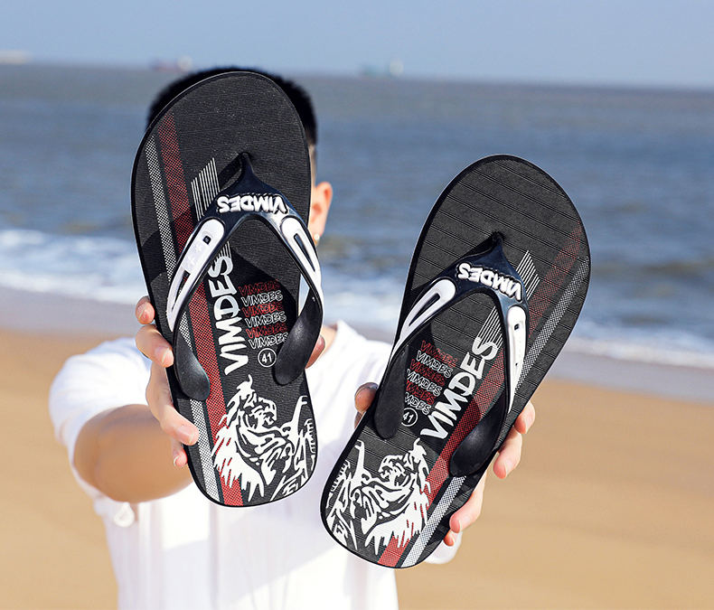 H6ffc4c77865e45acbedefa656db29ad5c - VESONAL Summer Graffiti Print Slippers Men Shoes Flip Flops Slipers Male Hip Hop Street Beach Slipers Casual Flip-flops