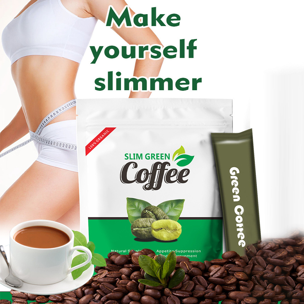 Healthy Slim Green Coffee Weight loose sliming of slim appetite control Help Boost Metabolism Natural Weight Loss