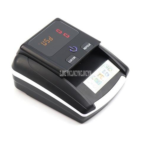 mini portatil falso detector de notas quantidade total exibicao euro usd conterfeit uv moeda dinheiro