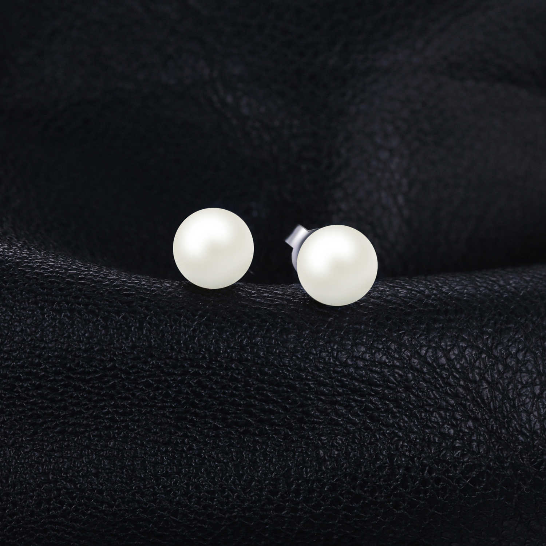 Jewelrypalace Nước Ngọt Ngọc Trai Nuôi Bóng Bông Tai Bông Tai Nữ Bạc 925 Nữ Hàn Quốc Earings Trang Sức Thời Trang