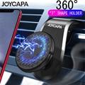 Магнитный автомобильный держатель для телефона с креплением на вентиляционное отверстие, вращается на 360 градусов.