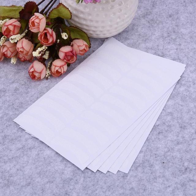 100pcs Paper Patches Eyelash Shields Perm Curler Curling False Eyelashes Extention Under Eye Pads Tips Sticker Wraps 4