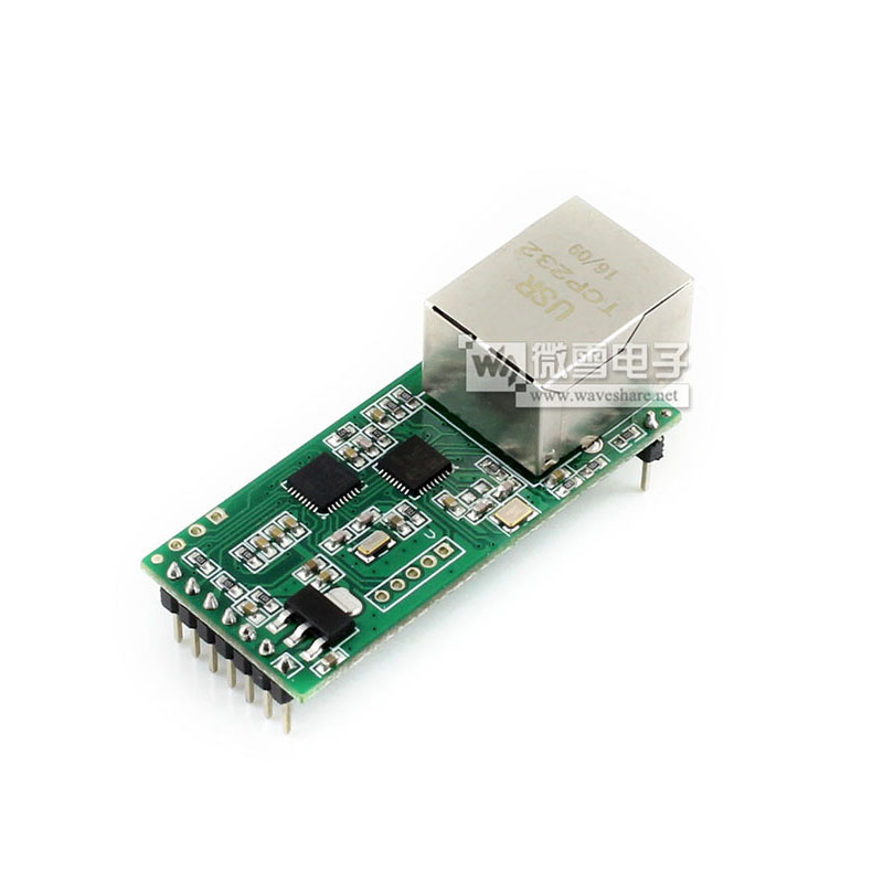 Serial Port To Ethernet Module TCP / IP Protocol Stack RJ45 To TTL Serial Port Network Module