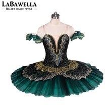 Vrouwen Pannenkoek Ballerina Platter Toneelkostuum Tutu BT8941G Professionele Ballet Tutu S Jade La Esmeralda Volwassen