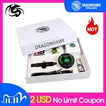 Professional Tattoo Kit Set Rotary Tattoo Machine Pen Power Ink Sets Needles Accessories