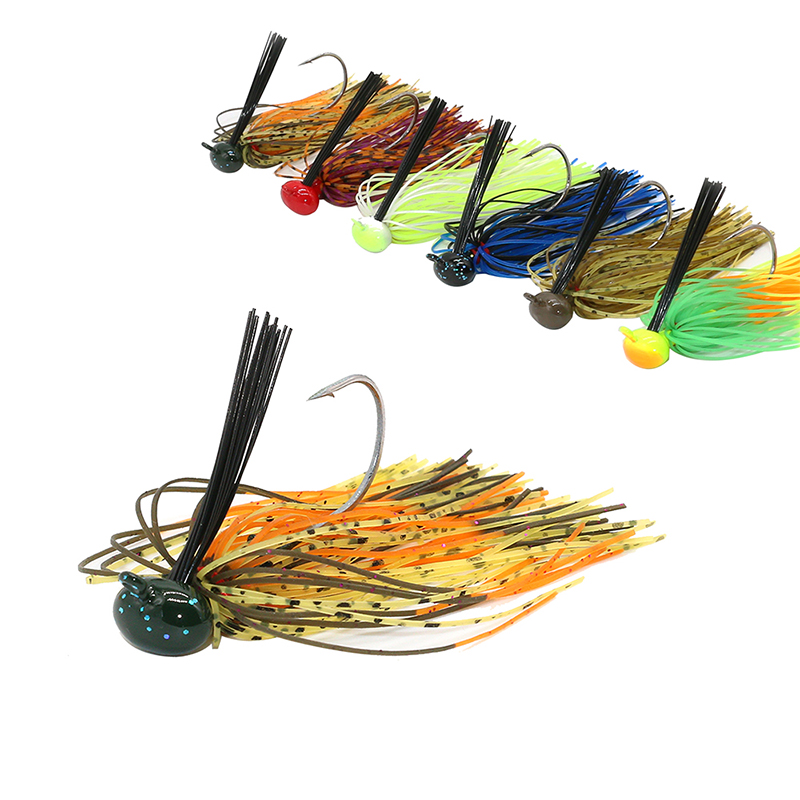 JonStar 1pc 7G/12G/15G/16G Finesse Chatter bait spinnerbait fishing lure wobbler chatterbait for bass pike walleye fishing-3