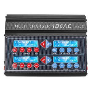 Image 3 - HTRC プロ Rc バッテリーバランス充電器 4B6AC クワトロ B6AC 6A 80 ワット * 4 放電 1 6s リポ/ライオン/寿命バッテリー充電器
