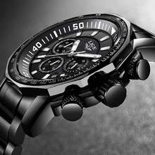 2020 New LIGE Mens Watches Top Brand Luxury Watch
