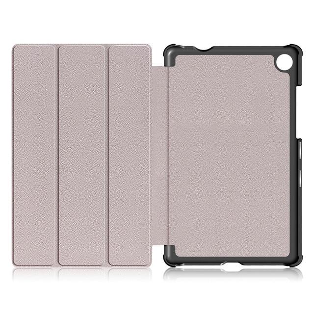 Coque de protection intelligente à rabat magnétique pour Lenovo Tab M8 TB-8505F TB-8505X 8 pouces