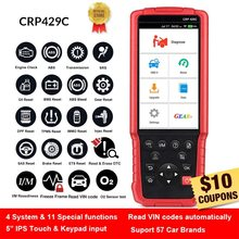 LAUNCH X431 CRP429C CRP 429 Auto diagnostic tool for Engine/ABS/Airbag/AT +11 Service 1 year Free update PK CRP129 CRP429