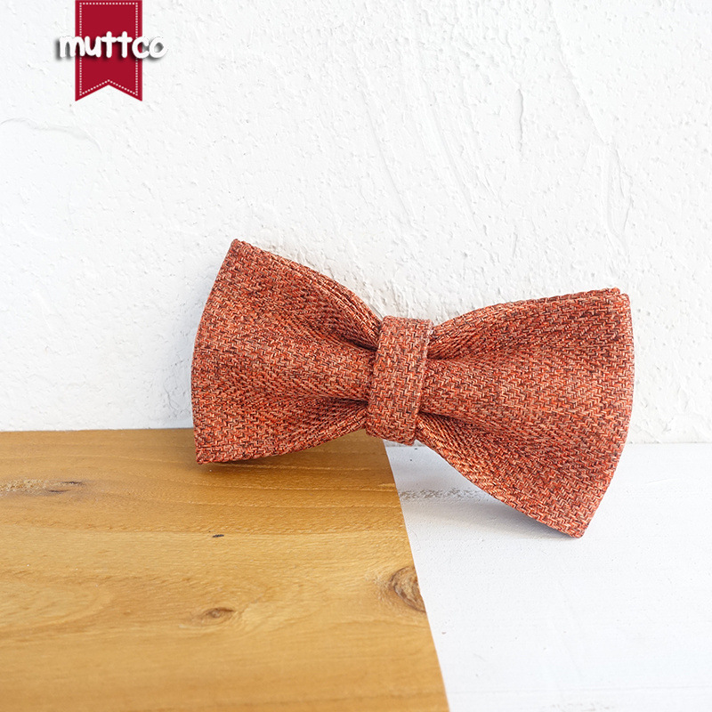 Muttco Dog Collar Bow Pet Dog Tie Creative Accessories Accessories Bowtie Ubt-069