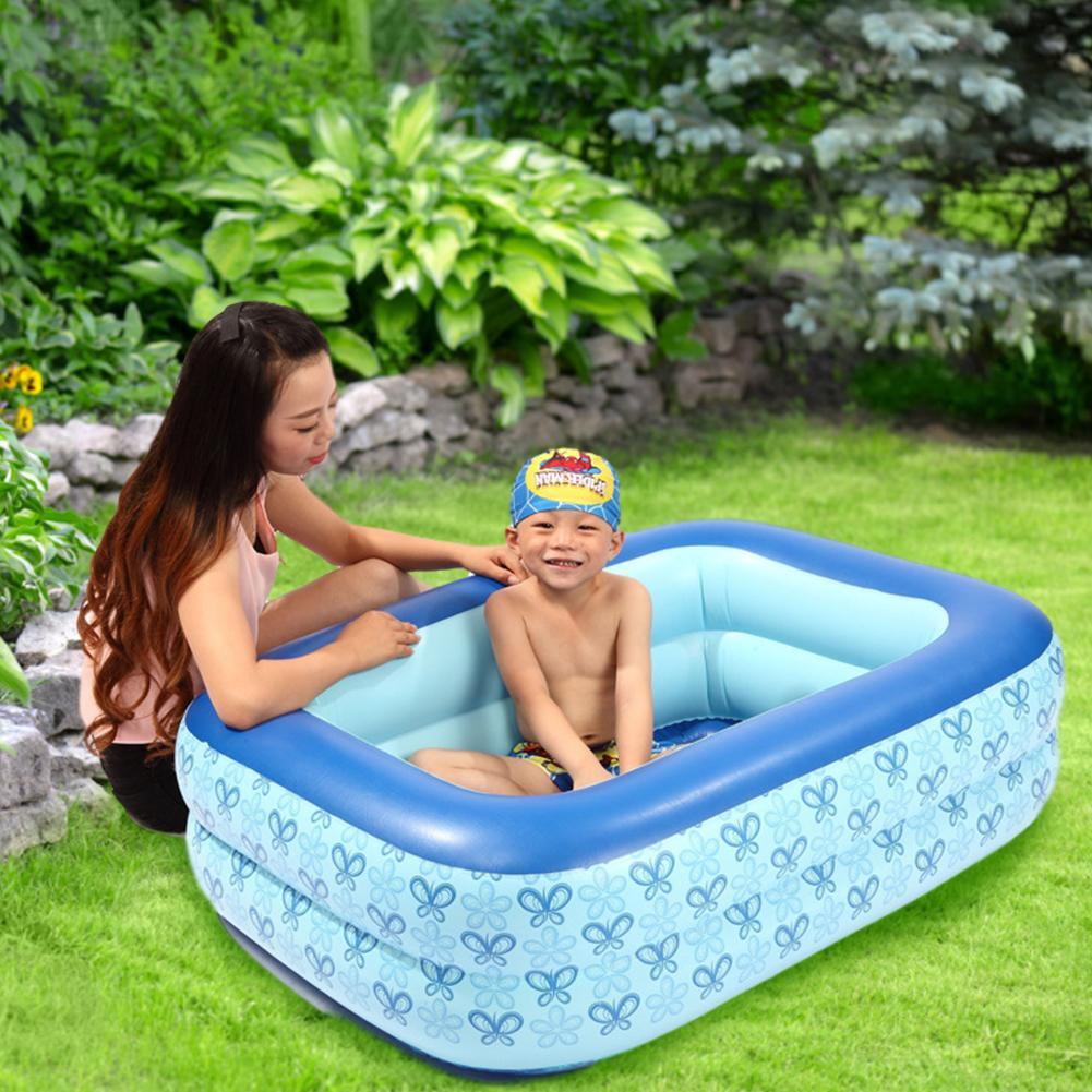 In Stock High Quality Inflatable Swimming Pool Thick Bathing Inflatable Pool Summer Water Toys Party Supply For Baby Kids Adu